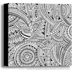 Color Your Own Canvas - Ethnic