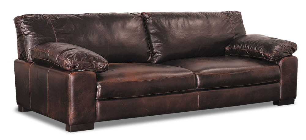 Pleasing How Its Made Soft Line Italian Leather Sofa Afw Com Interior Design Ideas Ghosoteloinfo