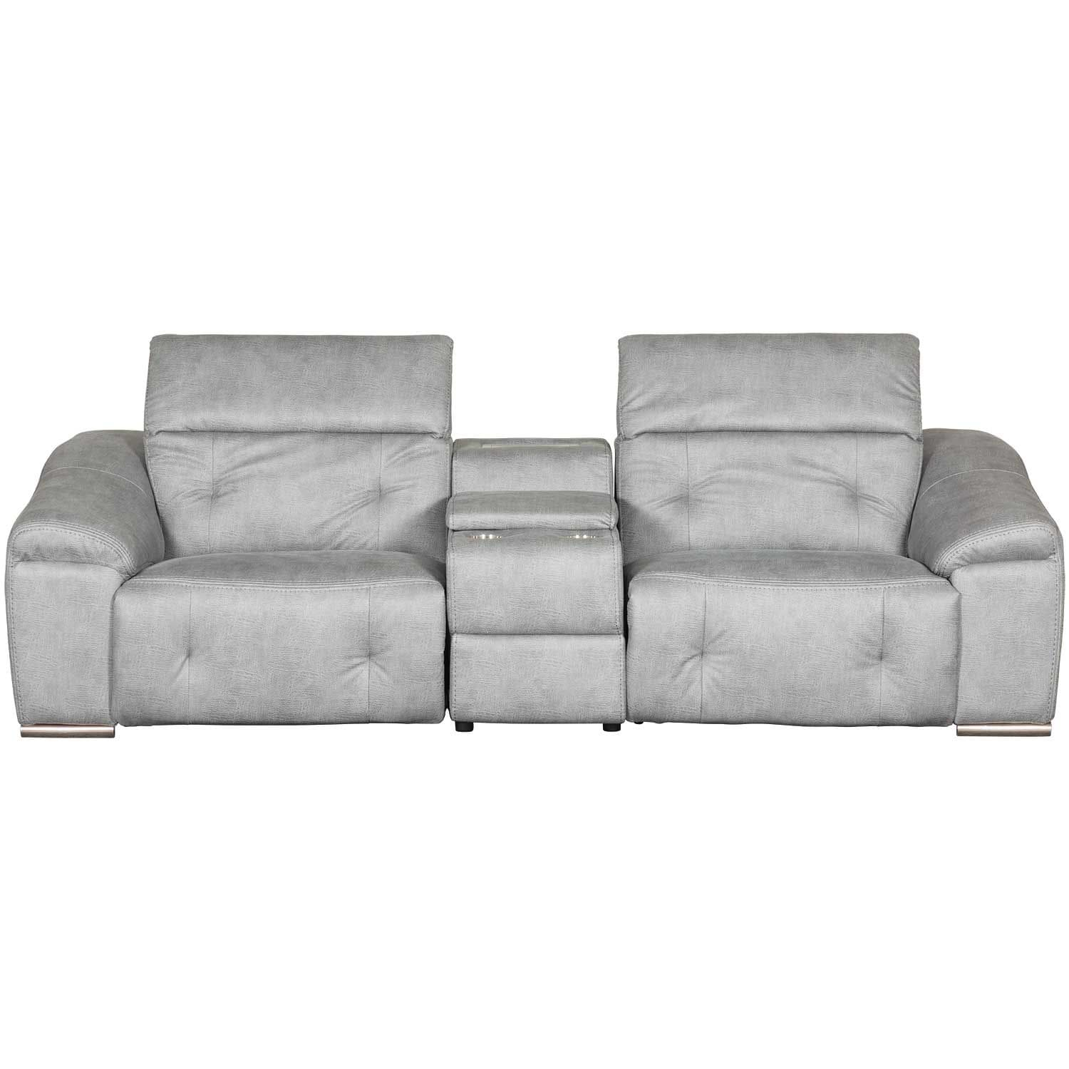 Bronx 3 Piece Power Reclining Sectional