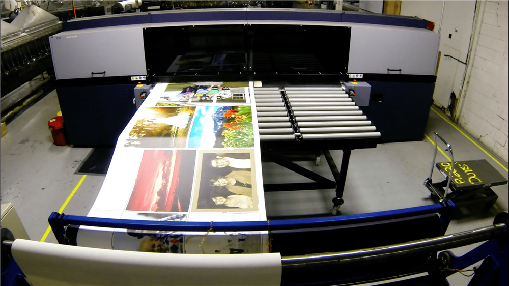 Printer at Circle Graphics