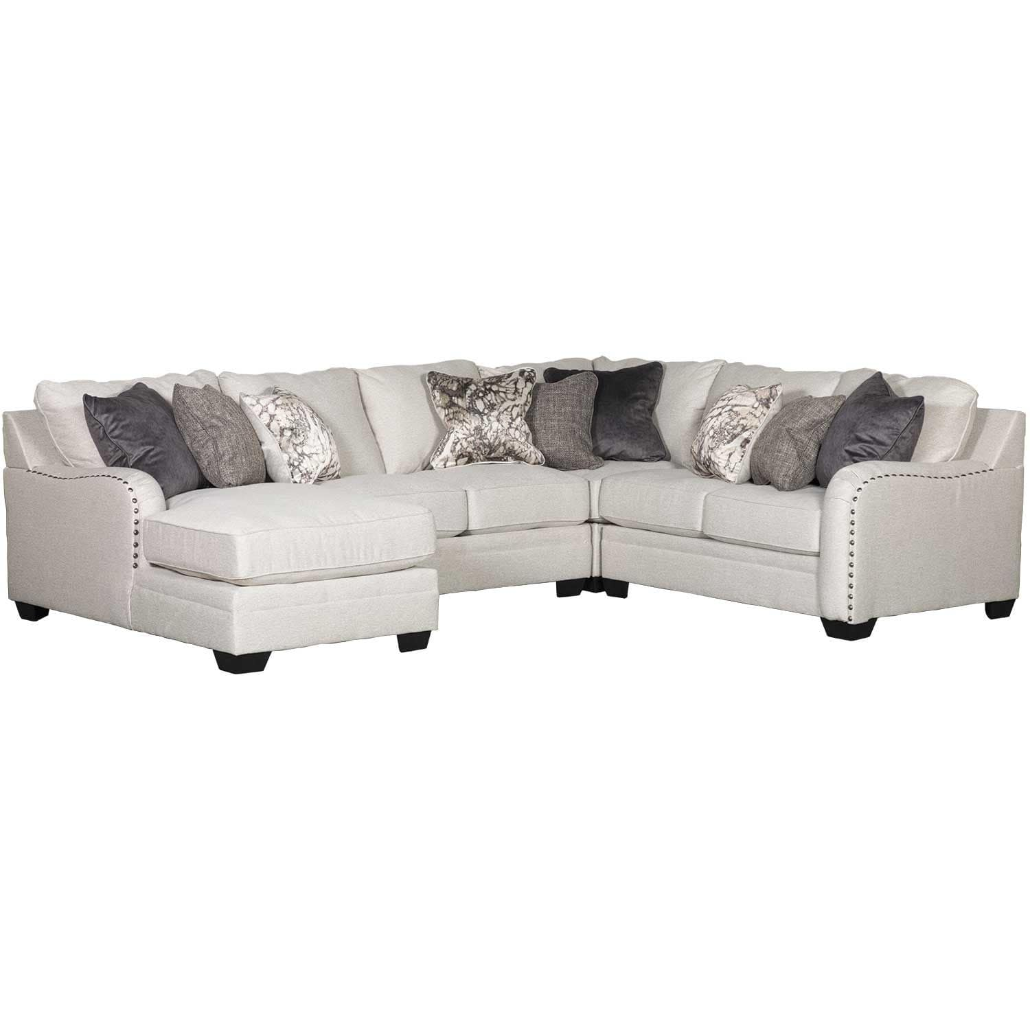 Dellara 4PC Sectional with LAF Chaise