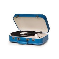 Coupe Turntable, Blue