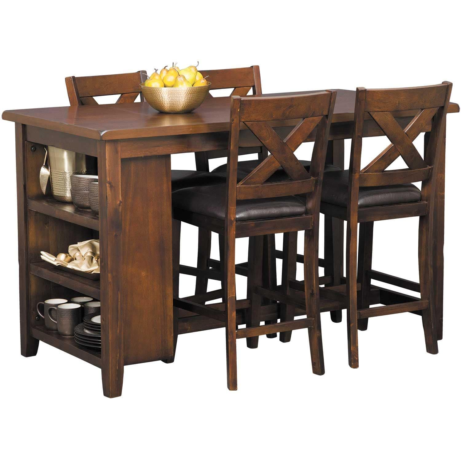 Monaco Counter 5 Piece Dining Set