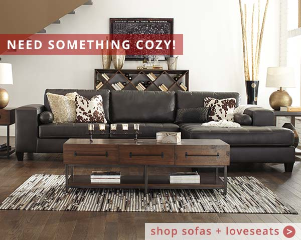 Need Something Cozy? - Shop Sofas