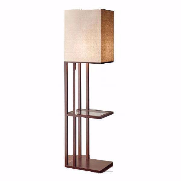 Shelf Square Shade Floor Lamp 102 3516