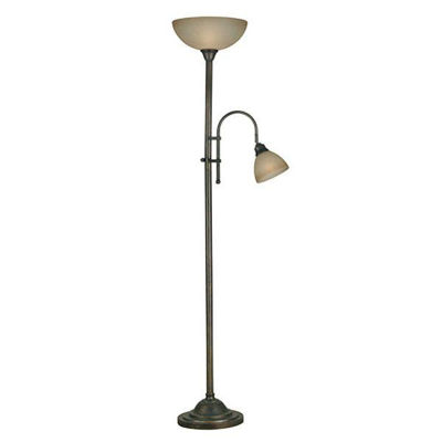 Picture of Callahan Torchier w/ Reading Lamp