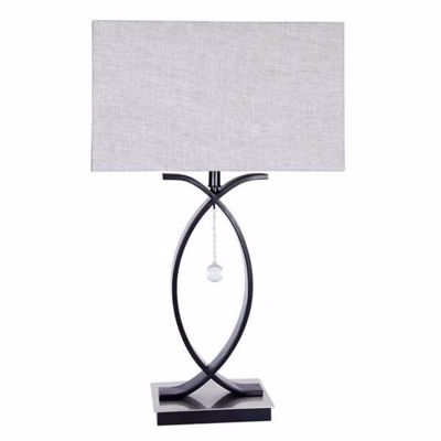 Picture of Metal Crisscross Lamp
