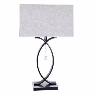 Picture of Metal Crisscross Lamp