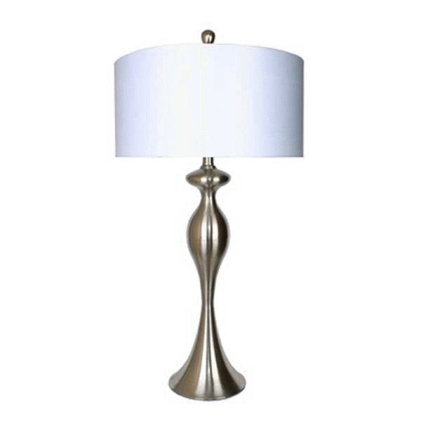 Picture of Nickel Curve Table Lamp