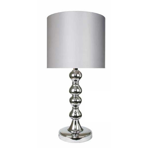 "Picture of 19"" Chrome Accent Lamp"