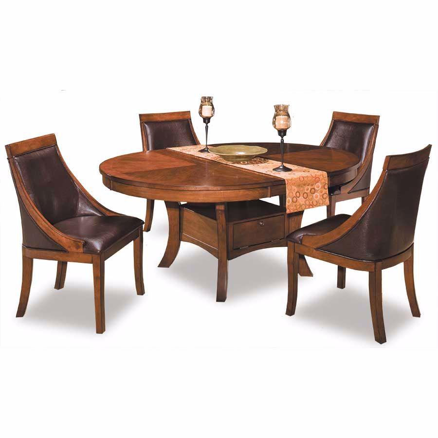 Fine Aspen Round 5 Piece Dining Set Pdpeps Interior Chair Design Pdpepsorg