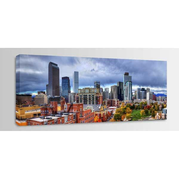 Picture of Denver Fall Skyline 60x20 *D