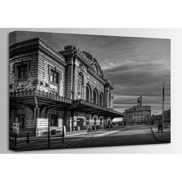 Picture of Union Station BW 36x24 *D