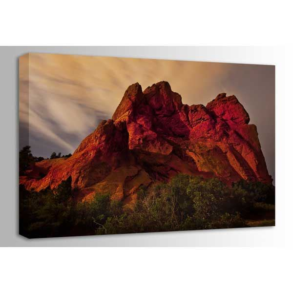 Picture of Garden of the Gods at Night 48x32 *D