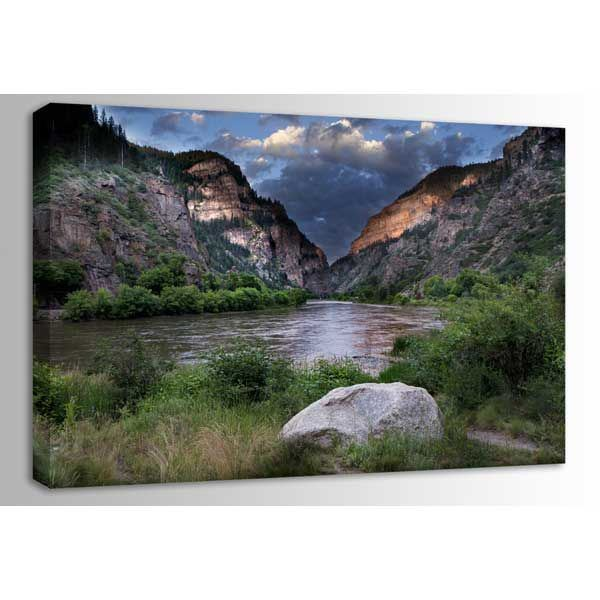 Picture of Glenwood Canyon at Dawn 48x32 *D