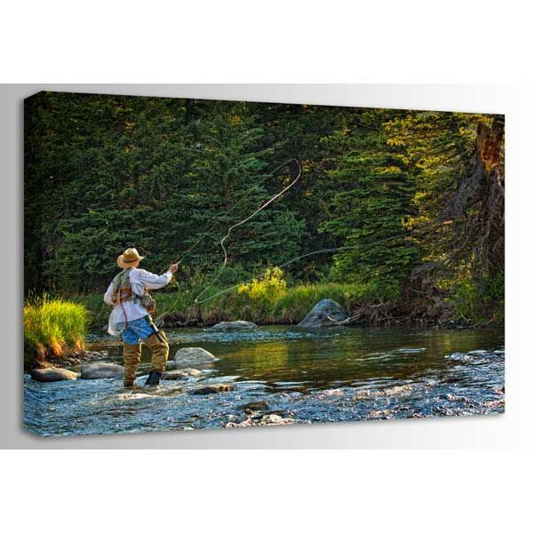 Picture of Fly Fishing Perfection-Color 48x32 *D