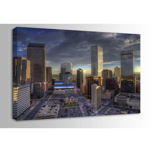 Picture of Downtown Denver Evening 48x32 *D