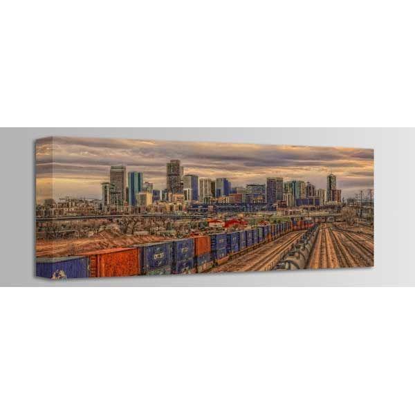 Picture of Denver Train Yard 36x12 *D