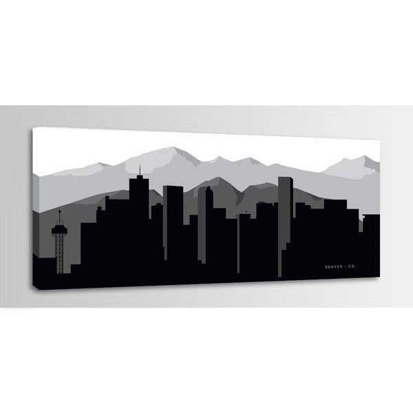 Picture of Denver Graphic Skyline 60x20 *D