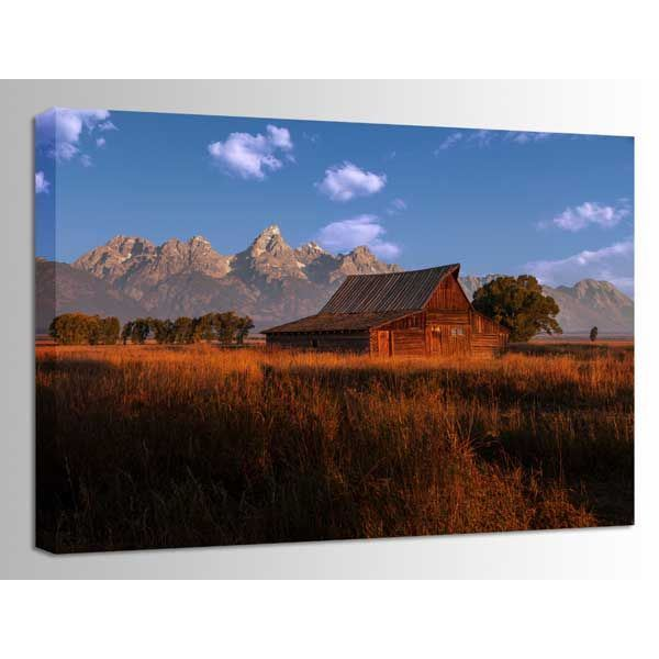 Picture of Fall at the Barn 48X32 *D