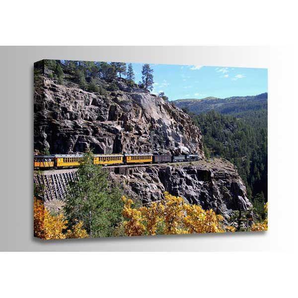 Picture of Durango To Silverton Rail 36x24 *D