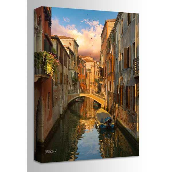 Picture of Ponte De Malpaga Venice Italy 32x48 *D