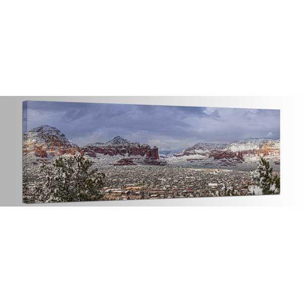 Picture of Sedona Arizona Snowstorm 60X20 *D