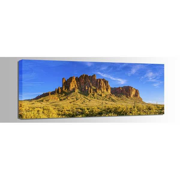 Picture of Superstition Mountain Sunset 60x20 *D
