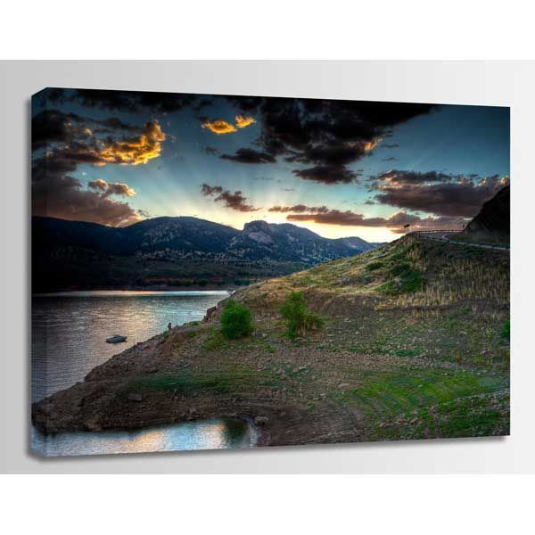 Picture of Horsetooth Sunset 48X32 *D