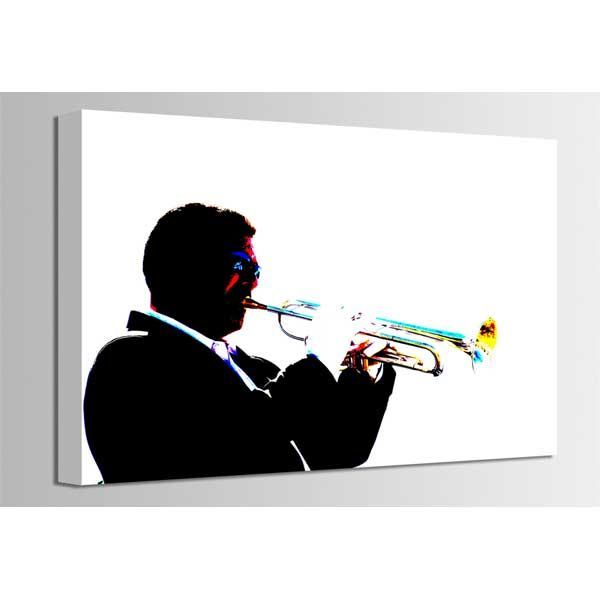 Picture of Trumpet Jazz Player 36x24 *D