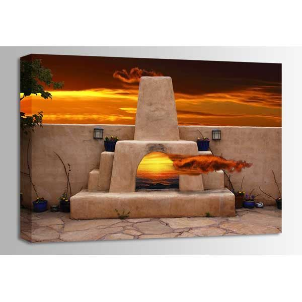 Picture of Santa Fe Kiva 36x24 *D