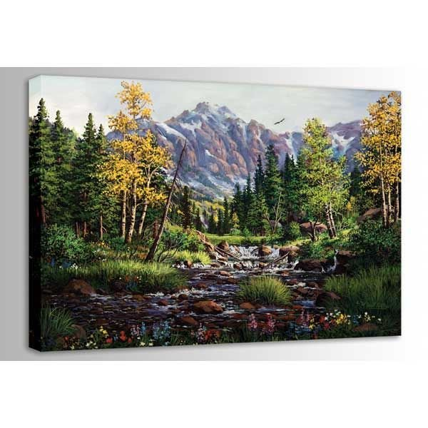 Picture of Springtime Rockies 48X32 *D