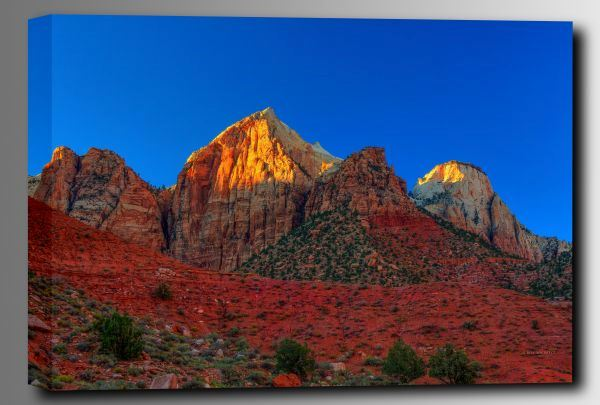 Picture of Peaks of Glory 36x24 *D