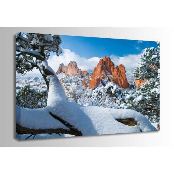 Picture of Garden of the Gods after Snow 48X32 *D