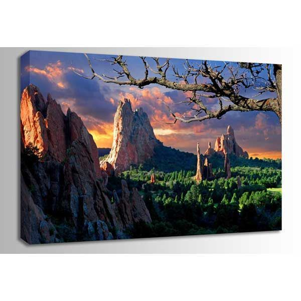 Picture of Morning Light- Garden of the Gods 48x32 *D
