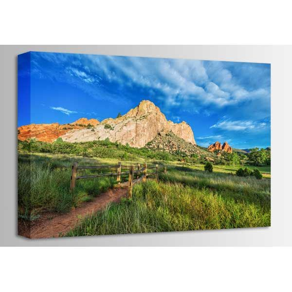 Picture of Garden of the Gods Trail 36x24 *D