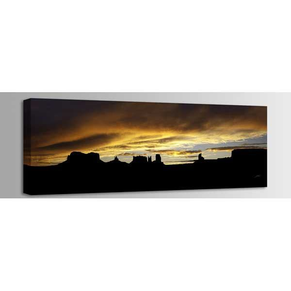 Picture of Monument Valley Storm Sunset 60x20 *D