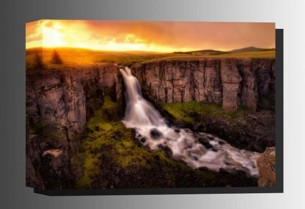 Picture of North Clear Creek Falls 32x48 *D
