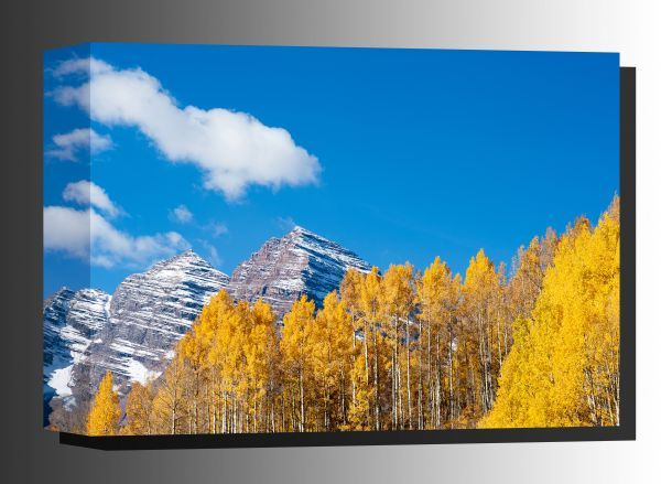 Picture of Maroon Bells In Autumn 32x48 *D