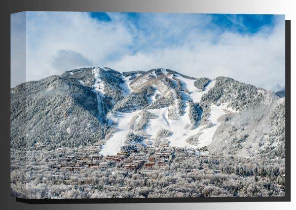 Picture of Winter Wonderland In Aspen CO 24x36 *D