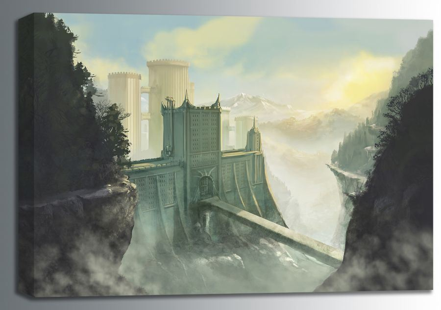 Picture of Castle Bridge 24x16 *D