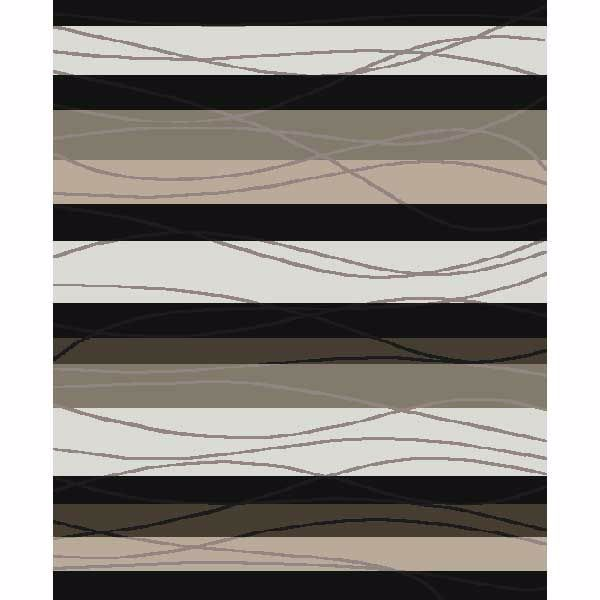 Picture of Tonal Stripe Easy Clean 7x10 Rug