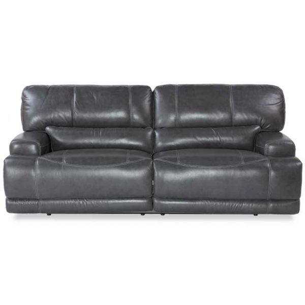 Picture of Gear Charcoal Leather Power Reclining Sofa