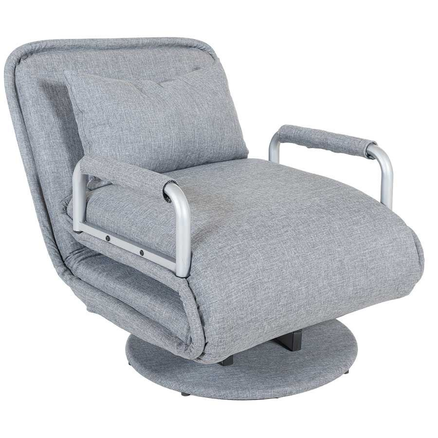 Astounding Gray Fold Out Chair Bed 1B 8062 8062 Gray No 6 Andrewgaddart Wooden Chair Designs For Living Room Andrewgaddartcom