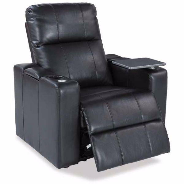 Amazing Larsen Black Power Recliner Wi Machost Co Dining Chair Design Ideas Machostcouk