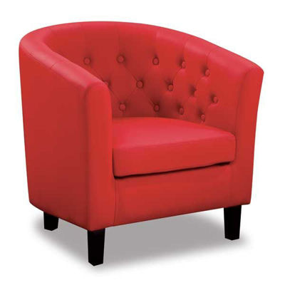 Picture of Mallory Red Tub Chair