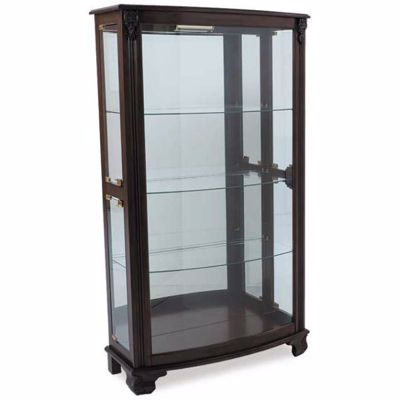 Picture of Mantle Height Curio Cherry