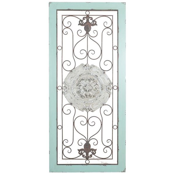 Picture of Iron and Wood Rustic Wall Decor