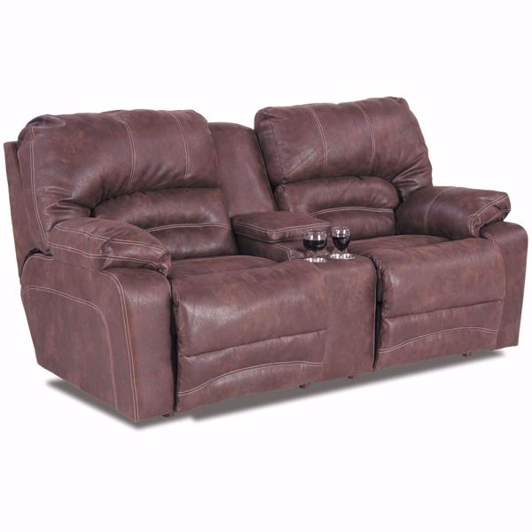 Picture of Legacy Reclining Console Loveseat