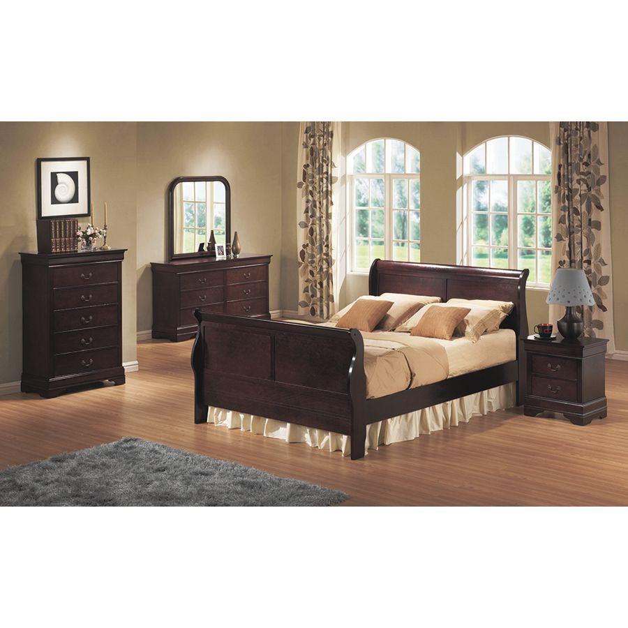 Bordeaux 5 Piece Bedroom Set